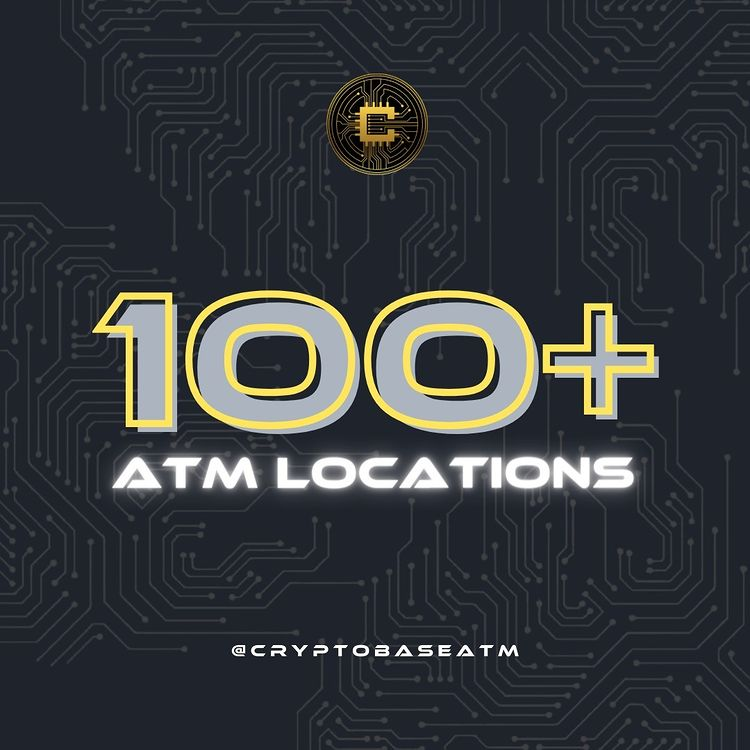 Cryptobase Over 100+ locations